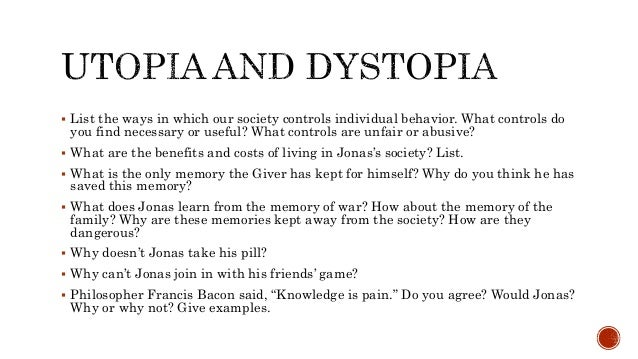similarities between utopia and dystopia