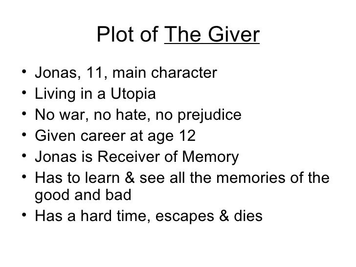 the giver epilogue essay He and the giver devise a plan: jonas will fake his own death and run away to elsewhere, aka the land outside the communities, which is, for all intents and purposes, very similar to our world (in other words, it has music and color and joy, but also violence and poverty) once jonas leaves, the memories which the giver has passed to him.