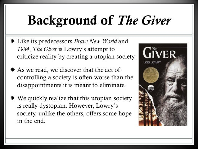 the giver society