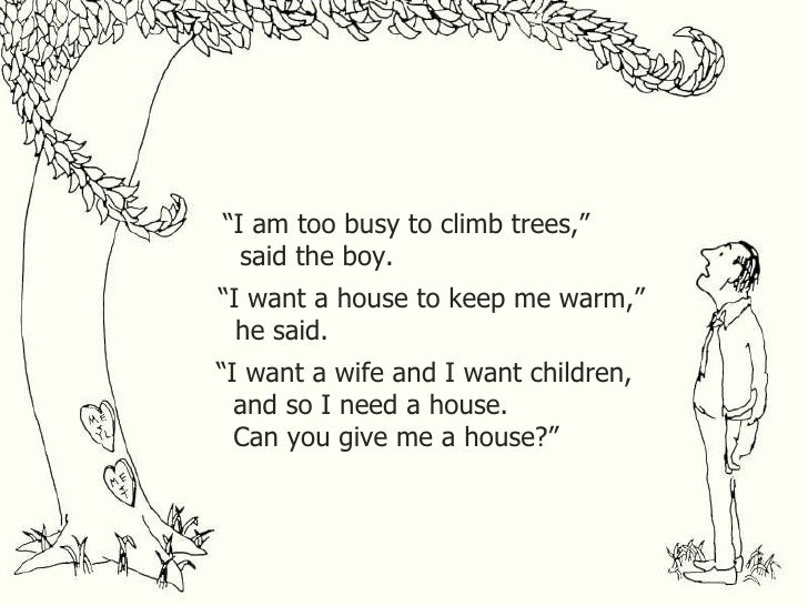 if i am a tree essay in english