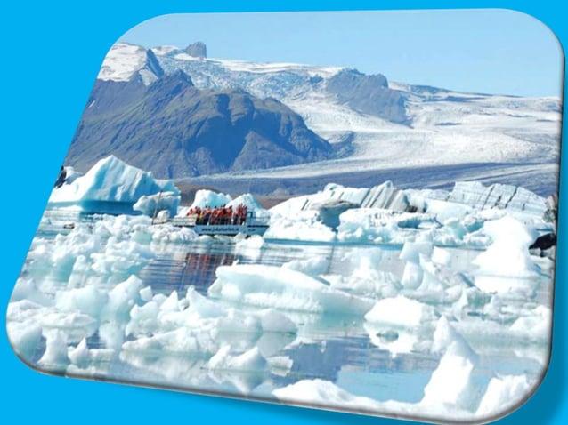 The glacier lagoon