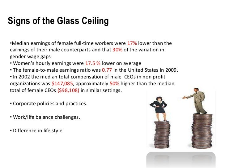 minority women and the glass ceiling essay Glass ceiling is a term used to refer to the alleged limits of advancement that minorities, including women, experience in the us workplace it has been observed that the highest-ranking positions in organizations are dominated by heterosexual white men.