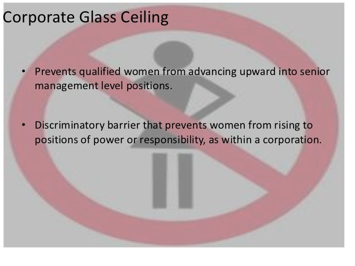 ... 7. Corporate Glass Ceiling ...