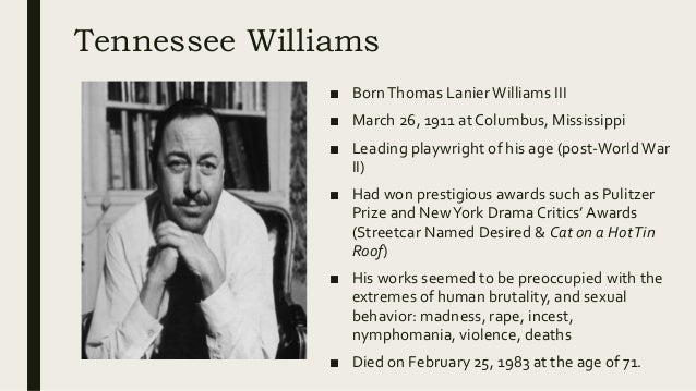 the theme of maturity in the glass menagerie by tennessee williams Paul newman: obituary  thing happened with tennessee williams's cat on a hot tin  better service 15 years later when he directed the glass menagerie.