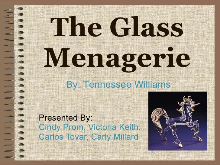 essay about the glass menagerie