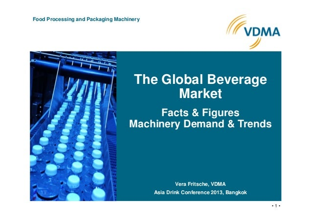 • 1 • Food Processing and Packaging Machinery The Global Beverage Market Facts & Figures Machinery Demand & Trends Vera Fr...