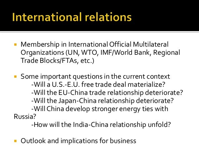 imf world bank and chinas role global governance politics essay Imf world bank debt governance and corruption question by now we know only too well, the world bank, imf, affiliates, staff while performing duties on their behalf, are protected by immunity granted to inter-governmental organisations.
