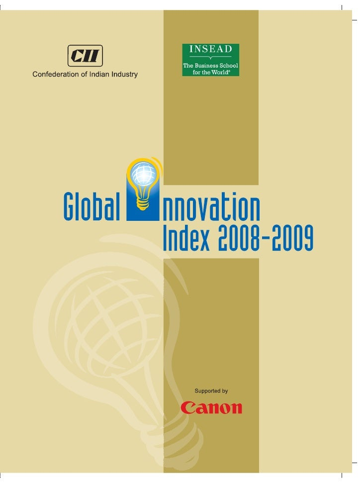 3    The World's Top Innovators 2008-2009