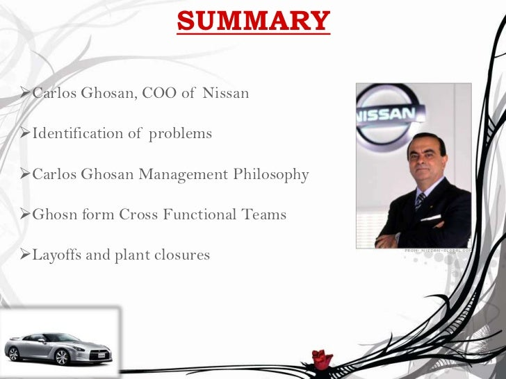 the global leadership of carlos ghosn The car maker renault used systems and structure to institutionalize adaptive and aligned leadership behavior a few years back, when carlos ghosn global team of.