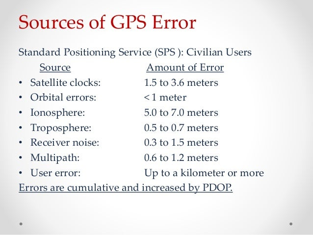 an overview of the standard positioning service and the precise positioning service Precise gps positioning: prospects and challenges  introduction   there is a precise positioning service and a standard positioning service, as in  the.