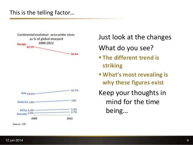 9 This is the telling factor… Just look at the changes What do you see?  The different trend is striking  What's most re...