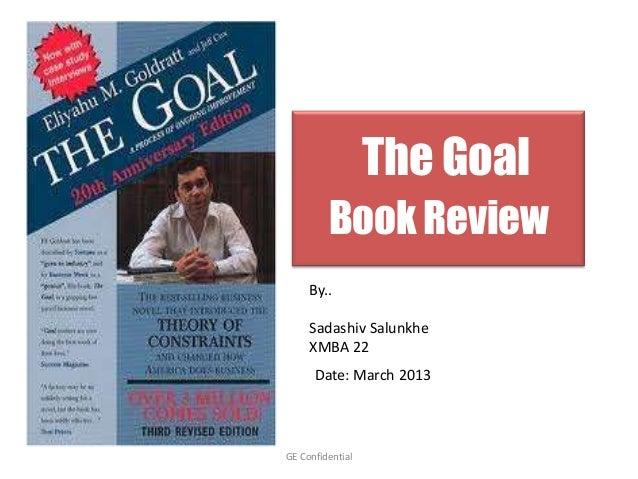 the goal book summary pdf