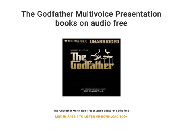 The Godfather Multivoice Presentation Books On Audio Free