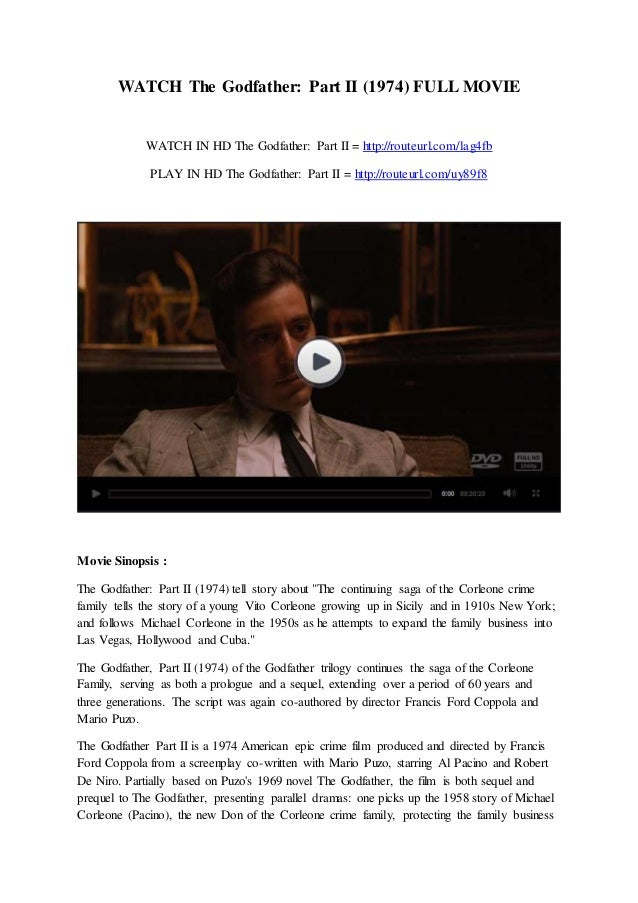 godfather 2 movie torrent