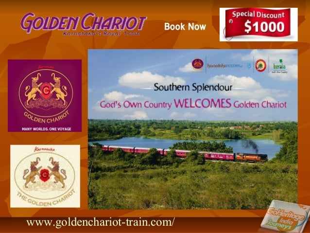 www.goldenchariot-train.com/ Book Now