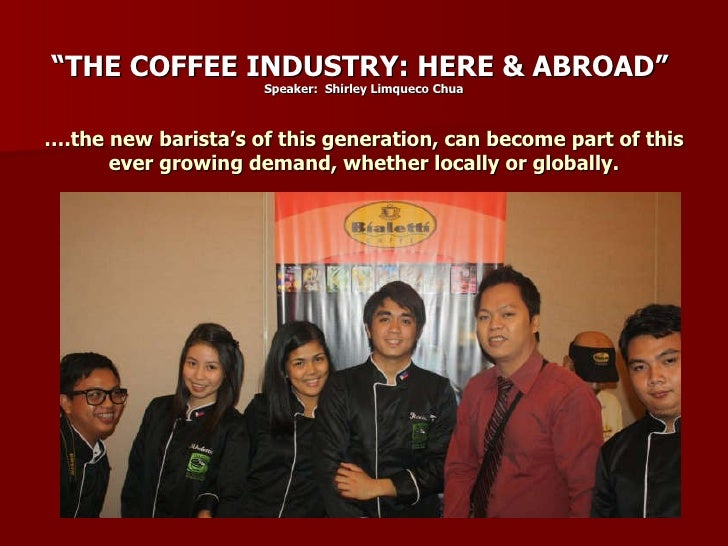 annual report for coffee shops in the philippines Annual consumption is some 30,000 tons  the present and some projections, the report also describes:  the coffee exporter's guide.