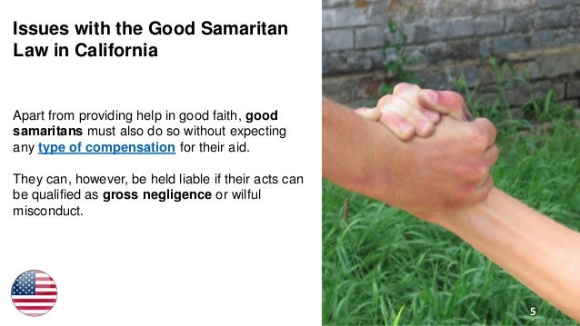The Good Samaritan Law in Los Angeles