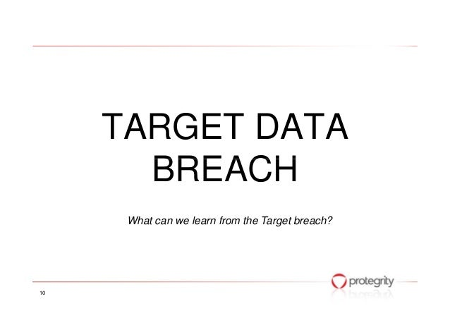 The good, the bad and the ugly of the target data breach