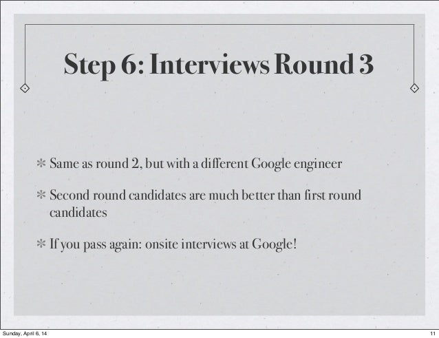A Googler: The Google Interview Process Uncovered