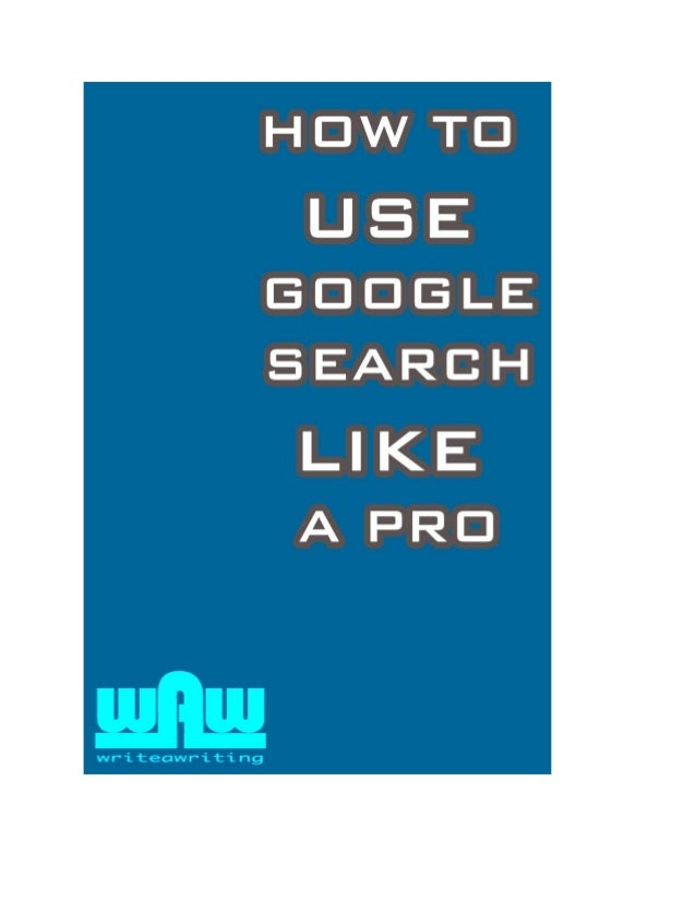 2 The Google Search Engine is no doubt the #1 resource for anyone who is looking for information. Whether you're a high sc...