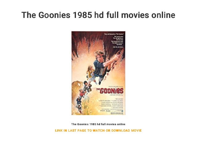 the goonies full hd movie download