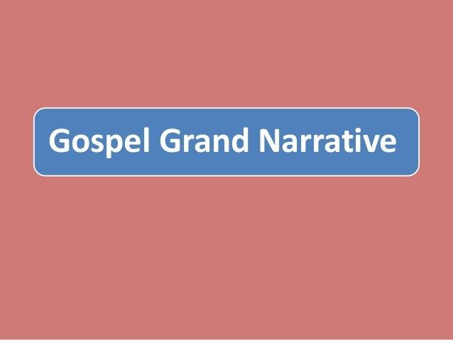 Gospel Grand Narrative