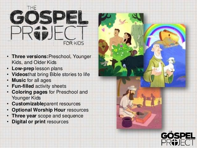 the gospel project original rh slideshare net Gospel Projects Crafts Gospel Projects Crafts
