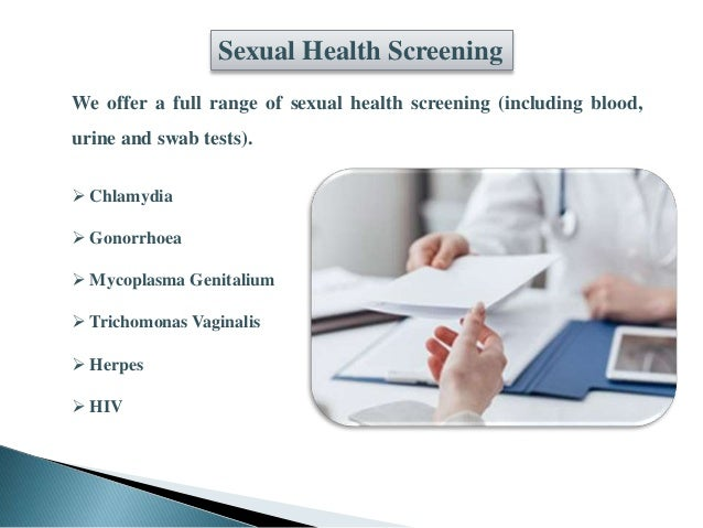 Private sexual health services