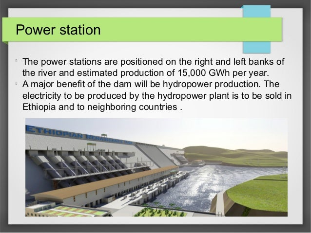 Power station l The power stations are positioned on the right and left banks of the river and estimated production of 15,...