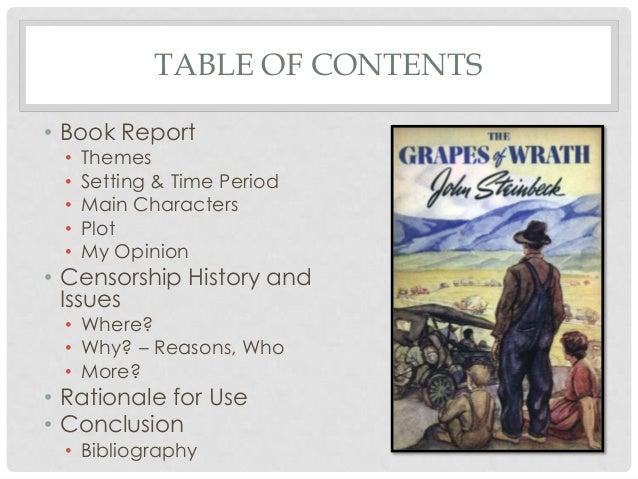 the grapes of wrath summary and analysis
