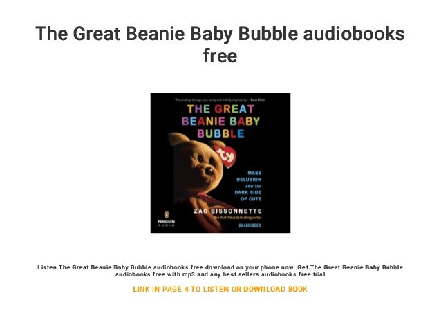 The Great Beanie Baby Bubble audiobooks free Listen The Great Beanie Baby  Bubble audiobooks free download ... a16daafba14