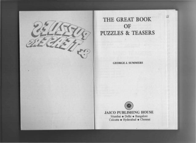 George J Summers Puzzles Pdf