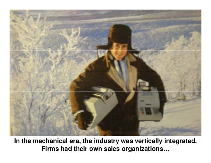 In the electronic era, the components were made bysemiconductor firms such as Rockwell and Fairchild.