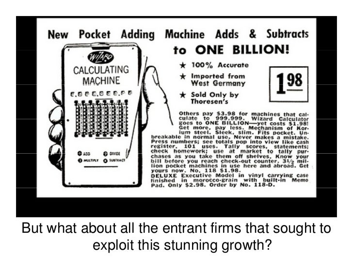 It was the introduction of integrated circuits that created a rapid decrease in prices and increase                  in pe...
