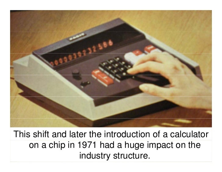 … And manufactured their own mechanical components.