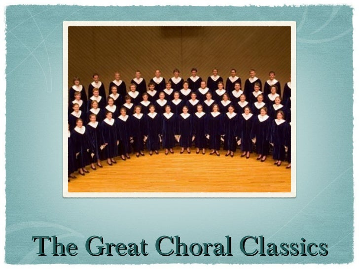 The Great Choral Classics