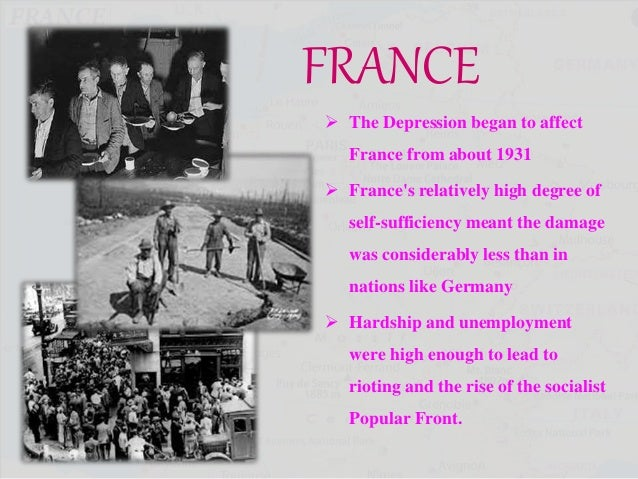 The great depression france