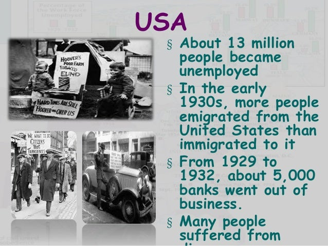 "the aftereffects of the great depression to the american people World war i was often referred to as ""the great war  causes effects and aftermath of world war 1  many people believe that the immediate cause of the."