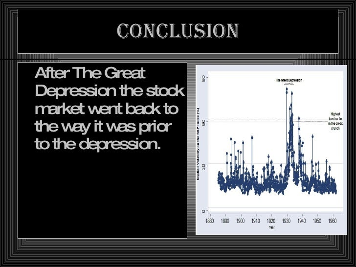 the great depression  conclusion