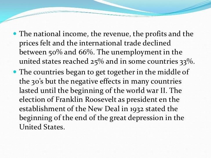 PPT - The Great Depression USA - IIA2