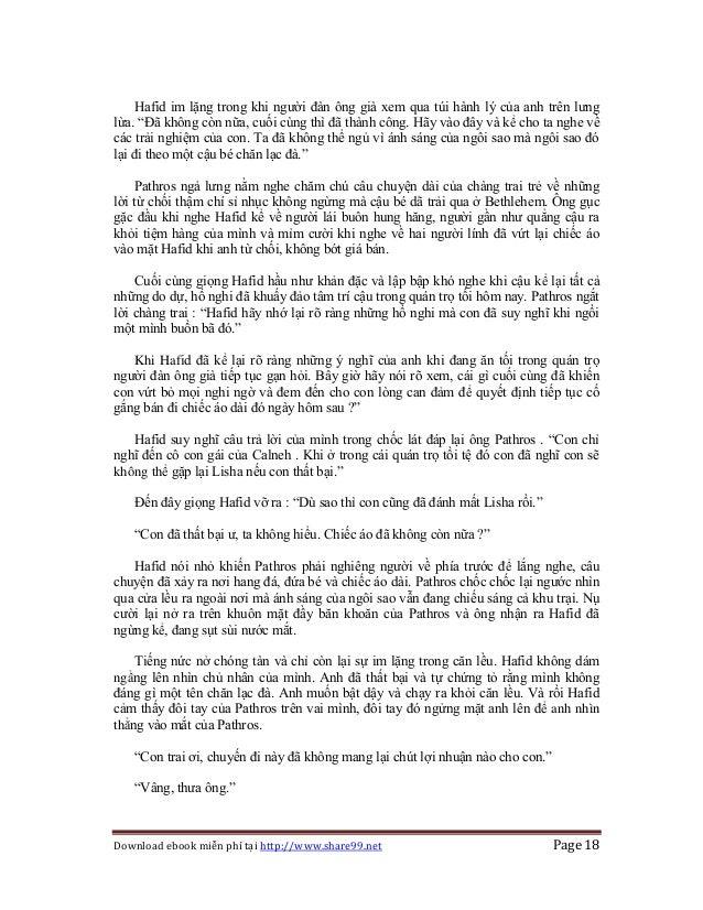 Download ebook miễn phí tại http://www.share99.net Page 18 Hafid im lặng trong khi người đàn ông già xem qua túi hành lý c...