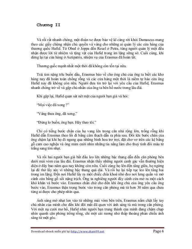 Download ebook miễn phí tại http://www.share99.net Page 4 Chương II Và rồi rất nhanh chóng, một đoàn xe được bảo vệ kĩ càn...