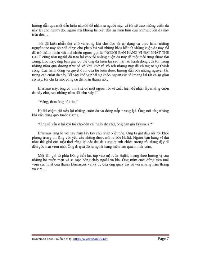 Download ebook miễn phí tại http://www.share99.net Page 7 hướng dẫn qua một dấu hiệu nào đó để nhận ra người này, và tôi s...