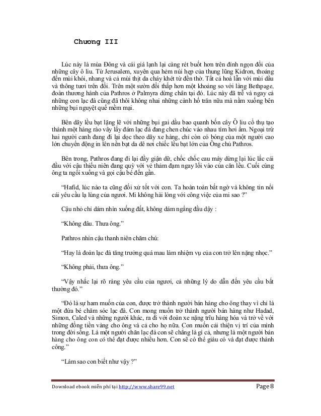 Download ebook miễn phí tại http://www.share99.net Page 8 Chương III Lúc này là mùa Đông và cái giá lạnh lại càng rét buốt...