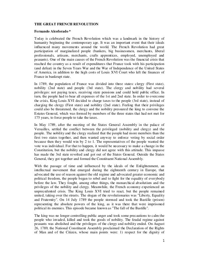 why did the french revolution fail essay A revolution broke out in france in february 1848 against the misrule of louis philippe the scope of that revolution did not remain confined to the boundaries of france only but the revolutionary tide soon swept to other countries, and the whole of europe was engulfed by its waves.