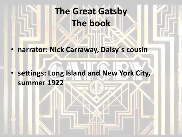 the good life of nick caraway in the great gatsby by f scott fitzgerald I saw the the great gatsby (i thought it was good the best gatsby movie by far) and when i saw the ending and i saw that carraway finished with his report on gatsby and he put the title page.
