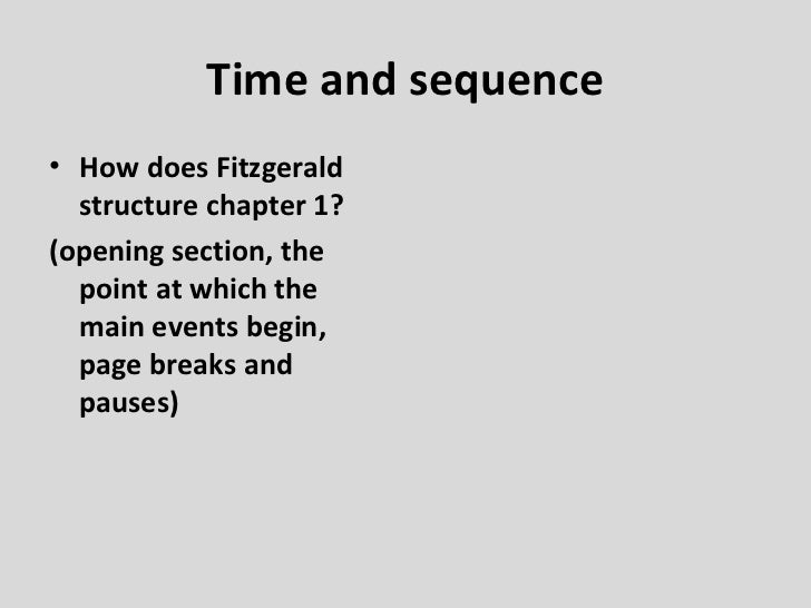 how does fitzgerald use symbolism to convey a theme in the great gatsby Fitzgerald's use of symbolism allows for the novel to resolve to divergent attitudes about money and about the possibility of realizing love in the meretricious, dream-factory culture of america, the idealism of gatsby at the core of the story (lathbury 65.