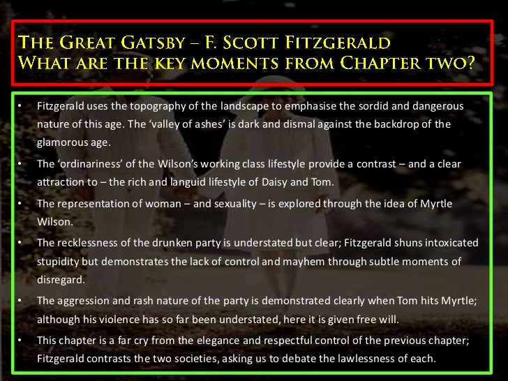 motif affairs the great gatsby essay The great gatsby critical analysis essay in f scott fitzgerald's the great gatsby • explain your theme or position and why it's applicable or relates.