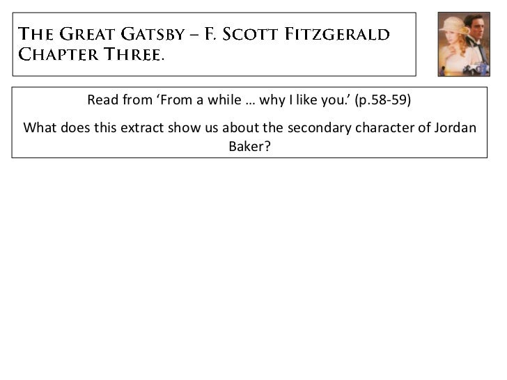 the great gatsby essay introductions How does f scott fitzgerald tell the story in chapter 2 of 'the great gatsby' the introduction of tom's mistress, myrtle, in chapter two of 'the great.