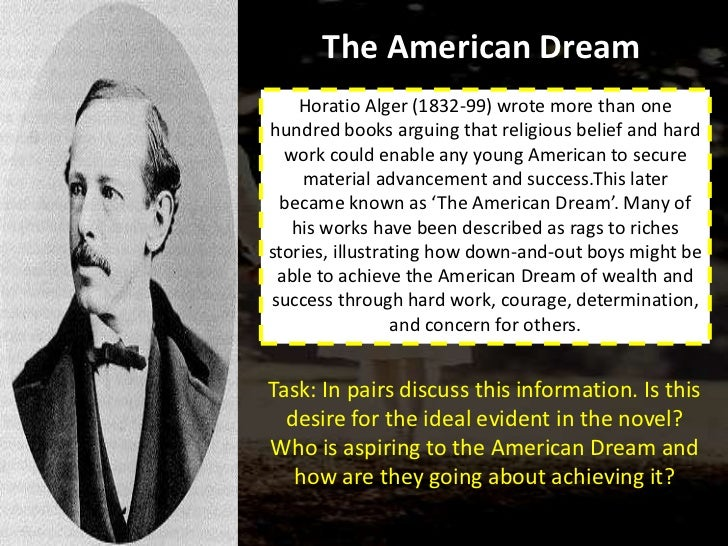 essay american dream success This essay failure of american dream and other 63,000+ term papers the american dream is a dream that glorifies fame, the pursuit of success , and power.